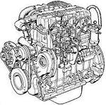 Двигатель и навесное Chery Beat