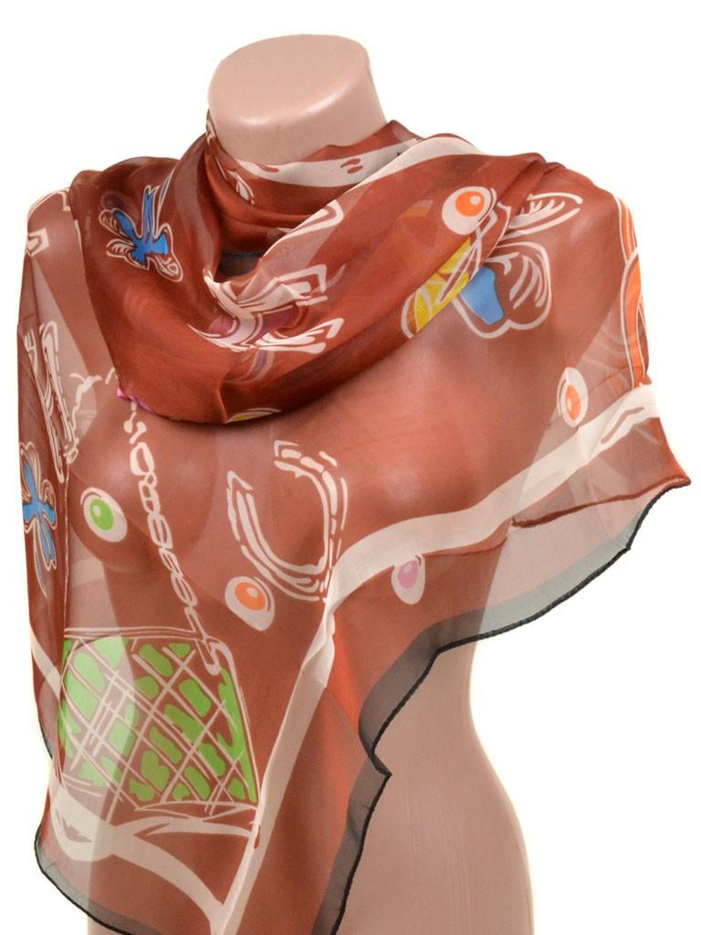 Женский шифоновый шарф