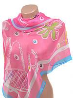 Женский легкий шарф палантин