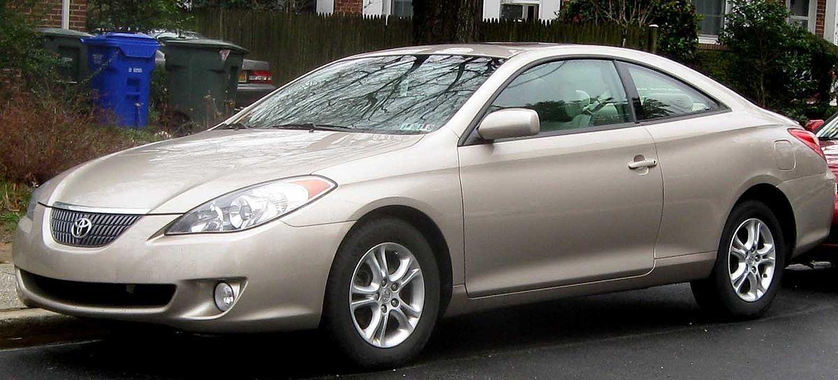 Лобовое стекло на Toyota Solara (Купе) (2004-2009)
