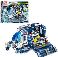 "Конструктор ""Brick"" ""Космос"",транспорт-база,фигурки, 337 деталей.Конструктор детский пластмассовый."