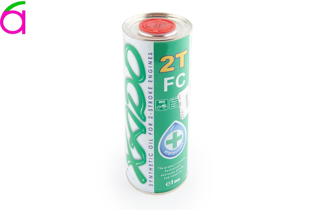 Масло 2T, 1л (синтетика, Atomic OIL 2T FC)
