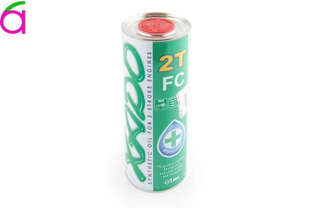 Масло 2T, 1л (синтетика, Atomic OIL 2T FC), фото 2