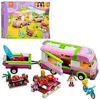 """Конструктор BELA """"Friends"""", пикник, автобус с прицепом, фигурки, 314 дет, в кор. 39,5*26*6,5см(12шт)"""