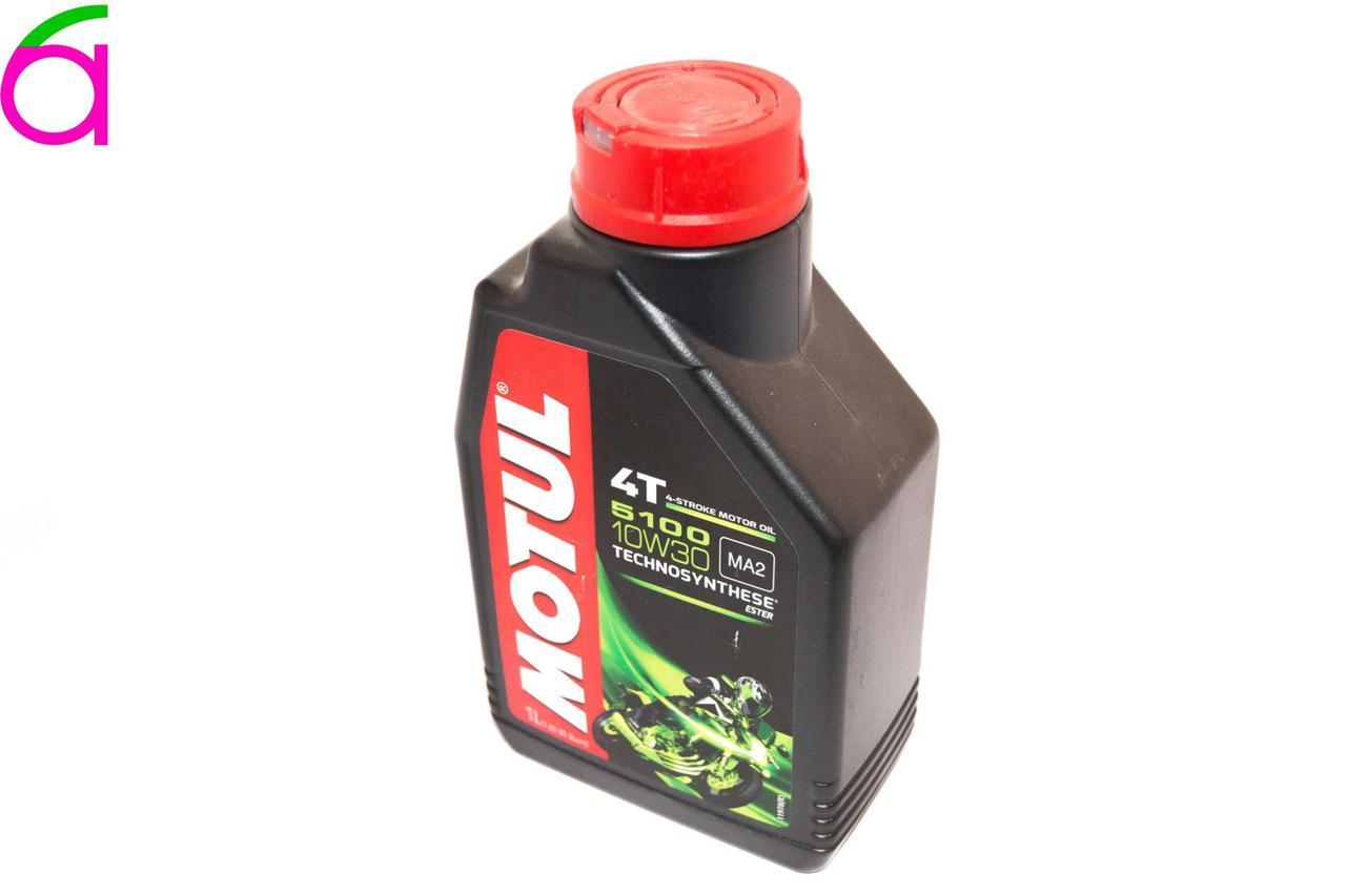 Масло 4T, 1л (синтетика, 10W-30, 5100)