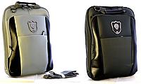 """Рюкзаки-сумки для ноутбука JOSEF OTTEN """"Черный-Серый"""", фото 1"""