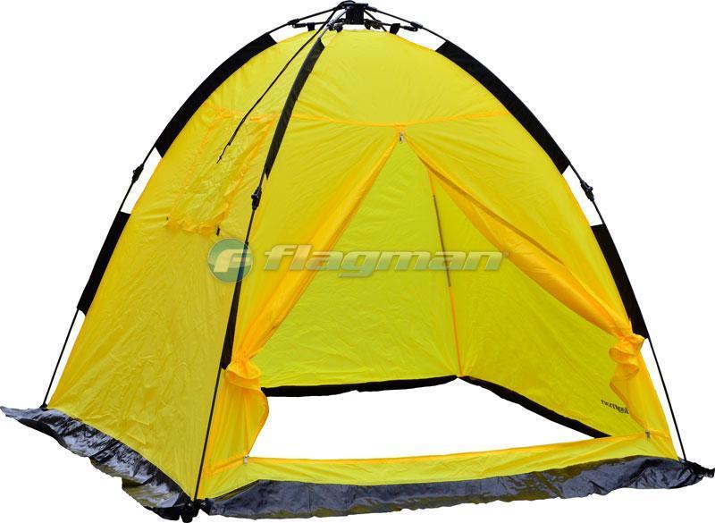 Палатка Flagman зимняя полуавтоматическая 200х200х170см