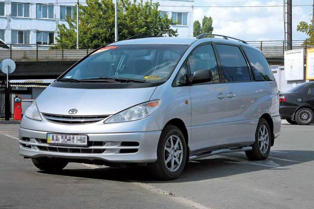Лобовое стекло на Toyota Previa (Минивэн) (2000-2006) , фото 2