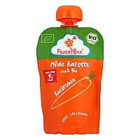 FruchtBar Морковное пюре 100%  100 г, с 4-го мес.