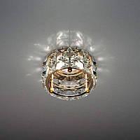 Светильник точечный декоративный с кристаллами Feron СD4527 золото MR-16