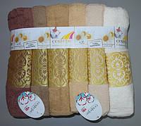 Набор полотенец из 6 штук 135х65 см Турция баня