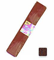 Папір креповая OLLI коричнева (10 шт/уп.) для творчості