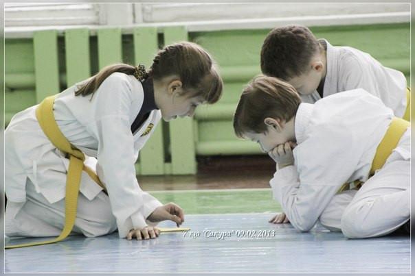 Секции каратэ для дошкольников в Днепропетровске