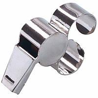 Свисток арбитра с металлической рукояткой для пальца SELECT (018), металлический