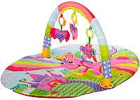 Детский коврик с погремушками FC001-1