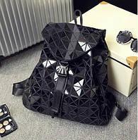 Рюкзак женский bao bao Issey Miyake R126 черный (реплика)