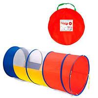 Труба-тоннель к детской палатке размер (112*47см), в сумке 56 см