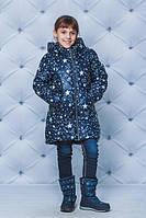 Модная куртка для девочки принт