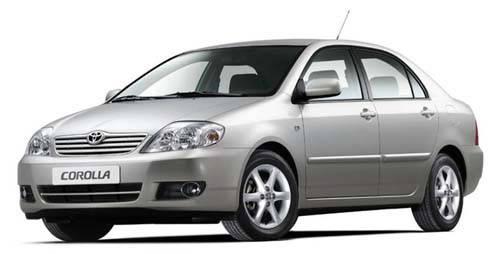 Лобовое стекло на Toyota Corolla E120/130 (Седан, Хетчбек, Комби) (2002-2006) , фото 2