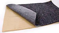 Тепло-шумоизоляция из войлока с липким слоем 80 х 50 см SoundProof KAIMAN 12