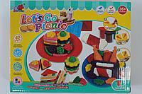 """Набор для творчества """"Поездка на пикник"""", формочки, аксессуары, в коробке"""