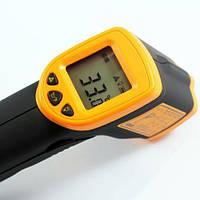 Лазерный цифровой термометр пирометр AR320. Прибор для бесконтактного измерения температуры тел. Код: КГ2933