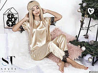 "Пижама женская атлас ""Lidia"" коллекция 2017"
