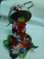Сувенір чаша з квітками