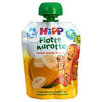 """HiPP Морковный Флот """"Морковь-манго-банан"""" 90 г, от 1-го года"""