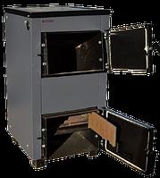 Твердотопливный котел ProTech TTП-18c с чугунными колосниками и чугунной плитой для приготовления пищи.