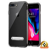 Чехол Spigen для iPhone 8 Plus Crystal Hybrid, Black, фото 1