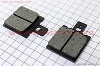 Тормозные колодки передние дисковые на скутер Yamaha JOG1