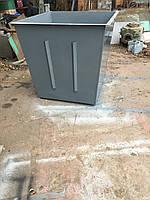 Мусорный бак (контейнер) для сбора ТБО 1 м3