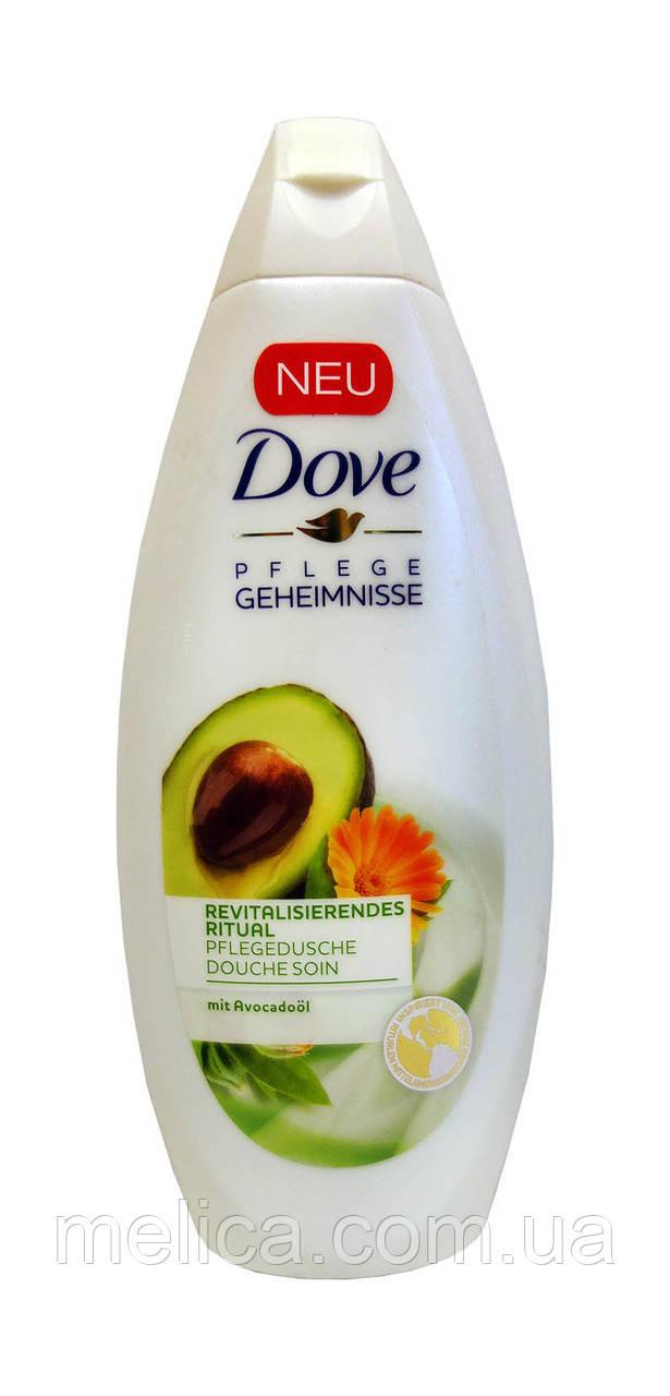Крем-гель для душа Dove Вдохновляющий с Авокадо - 250 мл.