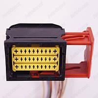 Разъем электрический 23-х контактный (49-38) б/у