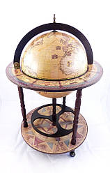 Глобус бар напольный 420мм-Зодиак 42001N