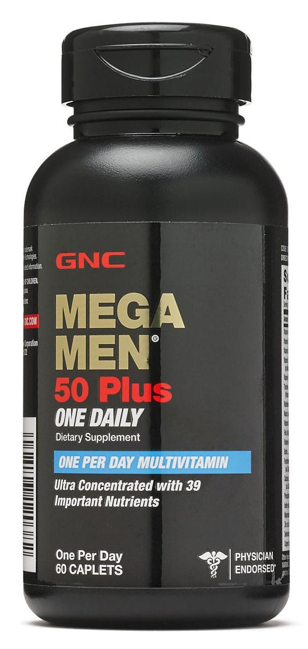GNC Mega Men 50 Plus One Daily 60 сaplets