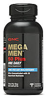 GNC Mega Men 50 Plus One Daily 60 сaplets, фото 1