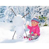 Зимовий комплект для ляльки Baby Born одяг для Бебі Борн Zapf Creation 823811
