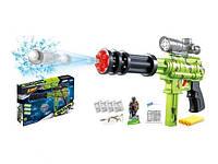 Пистолет игрушечный, стреляет водяными и мягкими патронами