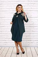 Нарядное платье с шифоном Разные цвета