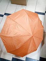 Зонт жіночий однотонний напівавтомат, фото 1