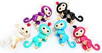 Интерактивная игрушка обезьянка Fingerlings Baby Monkey оригинал, ручная обезьянка Fingerlings Finger Monkey