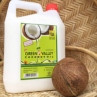 Кокосовое масло пищевое Грин Валей 5л Индия