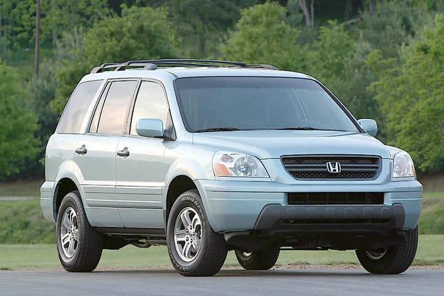 Лобовое стекло на Honda Pilot/MR-V (Внедорожник) (2003-2008) , фото 2