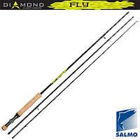 Удилище нахлыстовое Salmo Diamond FLY кл.4/5 2.55 (2145-255)
