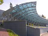 Поликарбонат монолитный Monogal прозрачный 6мм 2,05 * 3,05м, фото 6