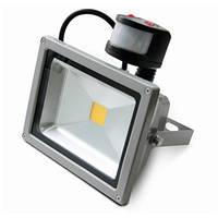 Прожектор светодиодный с датчиком движения, 30 Вт, 220v