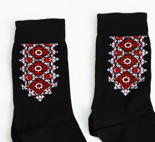 носки мужские вышиванка