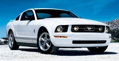 Лобовое стекло на Ford Mustang (Купе, Кабриолет) (2005-)